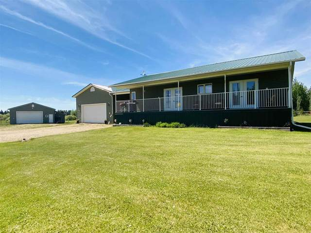 18 243050 TWP RD 474, Rural Wetaskiwin County, AB T0C 1Z0 (#E4242590) :: The Good Real Estate Company