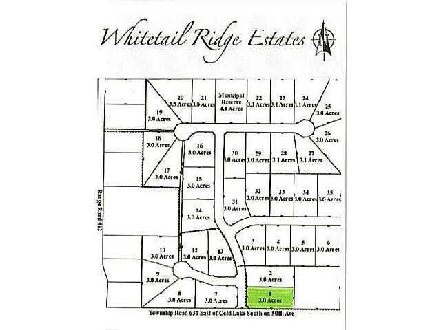 Lot 1 Whitetail Ridge Estates, Rural Bonnyville M.D., AB T9M 1P1 (#E3394424) :: The Foundry Real Estate Company