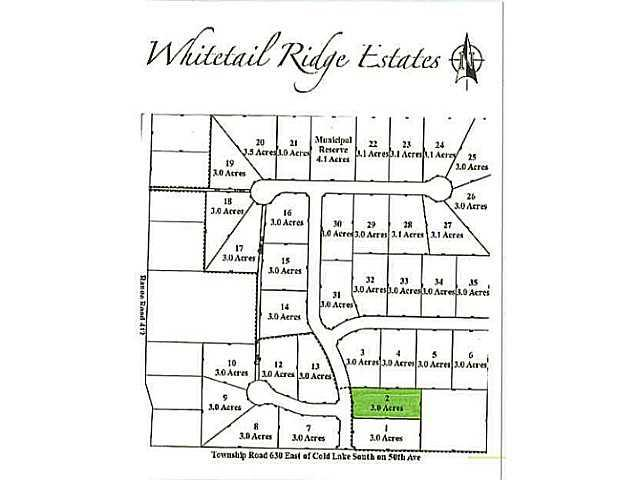Lot 2 Whitetail Ridge Estates, Rural Bonnyville M.D., AB T9M 1P1 (#E3394434) :: Initia Real Estate