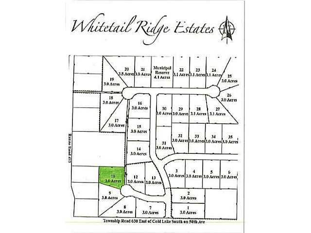 Lot 10 Whitetail Ridge Estates, Rural Bonnyville M.D., AB T9M 1P1 (#E3394446) :: The Foundry Real Estate Company