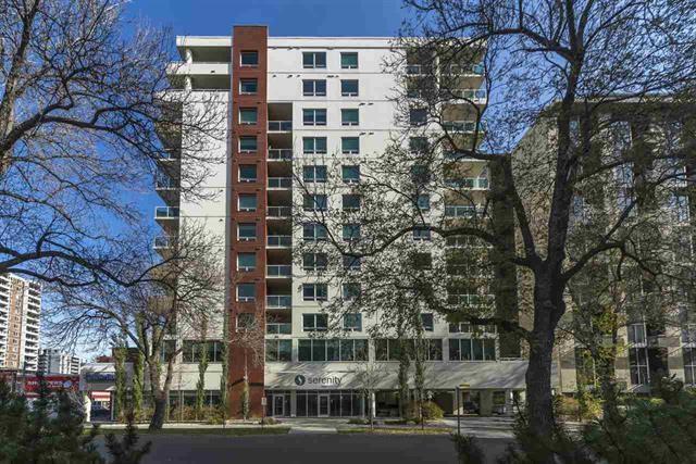 507 10055 118 Street NW, Edmonton, AB T5K 0C1 (#E4093356) :: GETJAKIE Realty Group Inc.