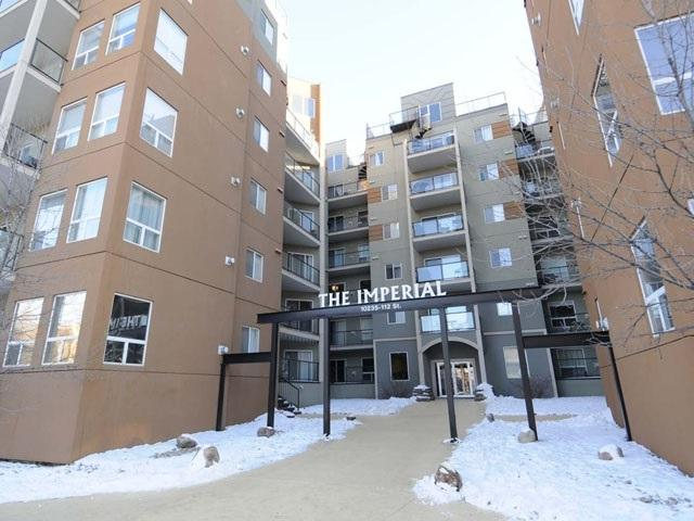 104 10235 112 Street, Edmonton, AB T5K 1M7 (#E4101817) :: The Foundry Real Estate Company