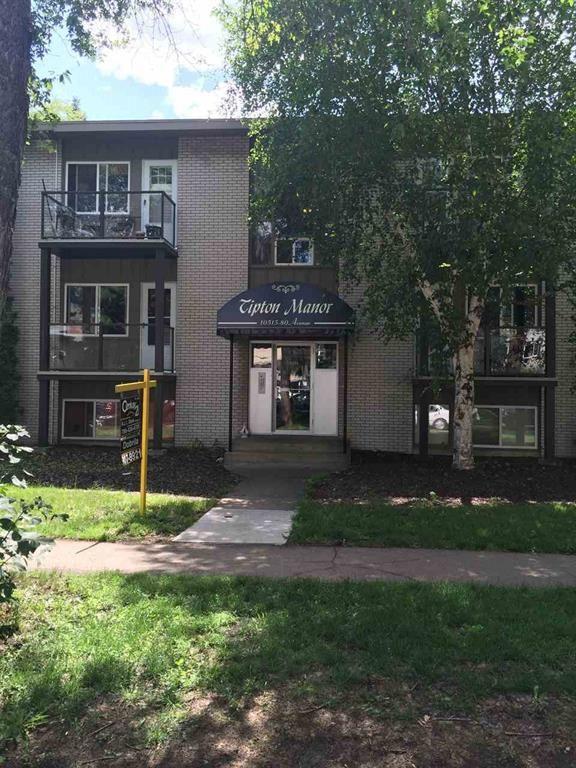1 10515 80 Avenue, Edmonton, AB T6E 2A4 (#E4104629) :: The Foundry Real Estate Company