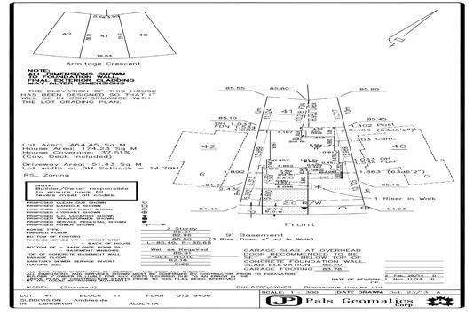 1040 Armitage Crescent SW, Edmonton, AB T6W 0K8 (#E4105150) :: GETJAKIE Realty Group Inc.
