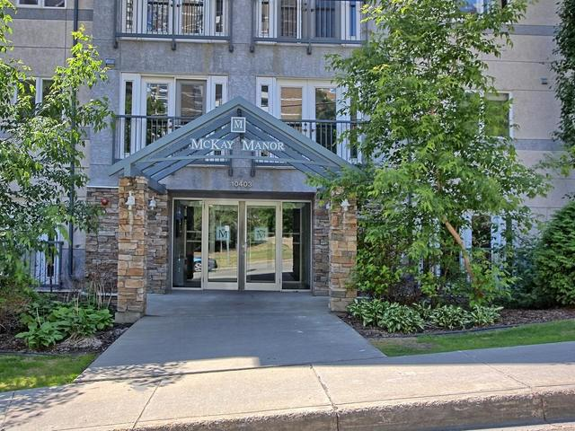 402 10403 98 Avenue, Edmonton, AB T5K 2Y5 (#E4116829) :: The Foundry Real Estate Company
