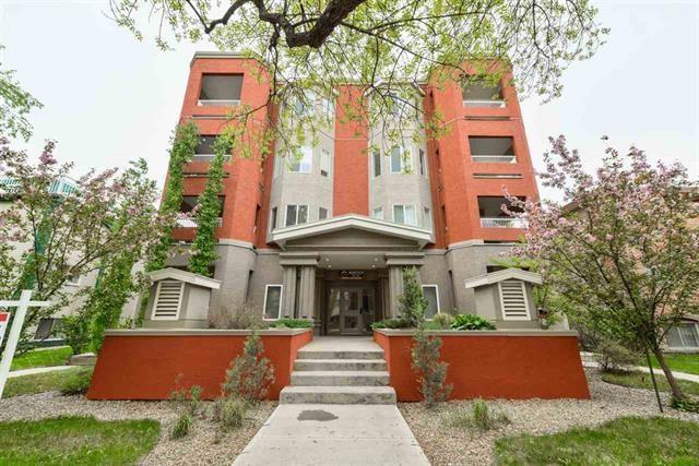 303 10235 116 Street, Edmonton, AB T5K 1W3 (#E4125200) :: GETJAKIE Realty Group Inc.