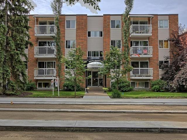 304 10625 83 Avenue, Edmonton, AB T6E 2E3 (#E4132707) :: The Foundry Real Estate Company