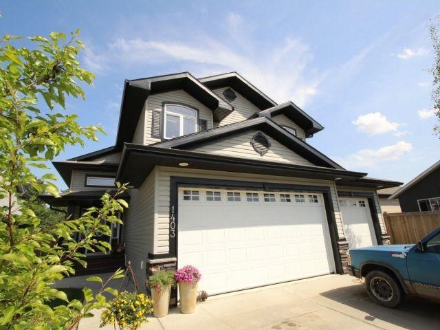 1403 Westerra Bay, Stony Plain, AB T7Z 0B3 (#E4132893) :: The Foundry Real Estate Company