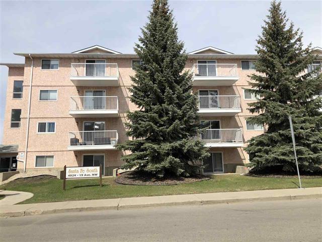 301 4924 19 Avenue, Edmonton, AB T6L 4B5 (#E4155631) :: Mozaic Realty Group