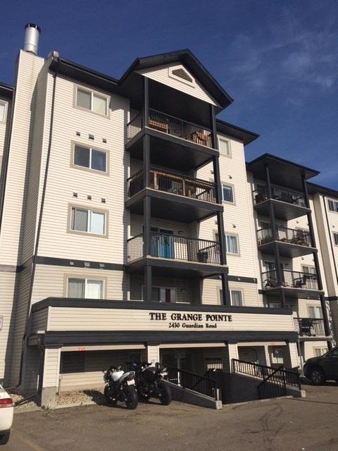 201 2430 Guardian Road NW, Edmonton, AB T5T 6X9 (#E4162125) :: David St. Jean Real Estate Group