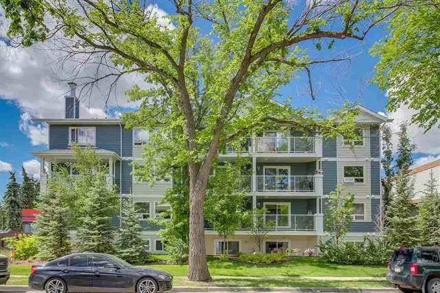 204 10710 116 Street, Edmonton, AB T5H 3M2 (#E4174780) :: YEGPro Realty