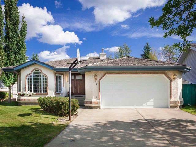 73 Blackburn Drive W, Edmonton, AB T6W 1A9 (#E4176571) :: Initia Real Estate