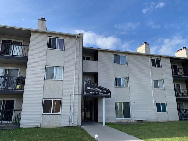 110 9816 156 Street, Edmonton, AB T5P 2P3 (#E4181789) :: Initia Real Estate