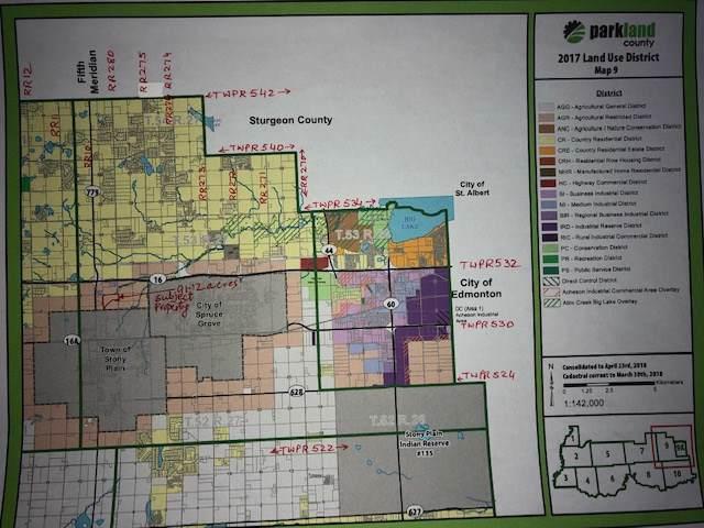Hwy 16 & Range Road 280, Rural Parkland County, AB T7Z 1R1 (#E4182713) :: Initia Real Estate