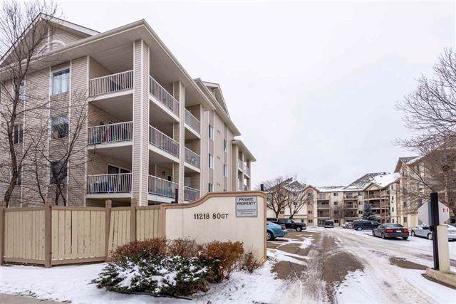 102 11218 80 Street, Edmonton, AB T5B 4V9 (#E4185198) :: Initia Real Estate