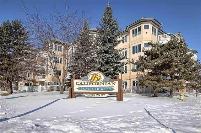 413 10610 76 Street, Edmonton, AB T6A 3B4 (#E4192768) :: Initia Real Estate