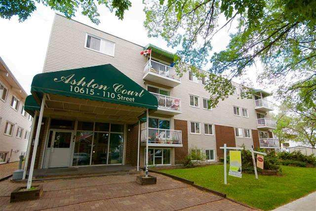 402 10615 110 Street, Edmonton, AB T5H 3C7 (#E4197141) :: RE/MAX River City