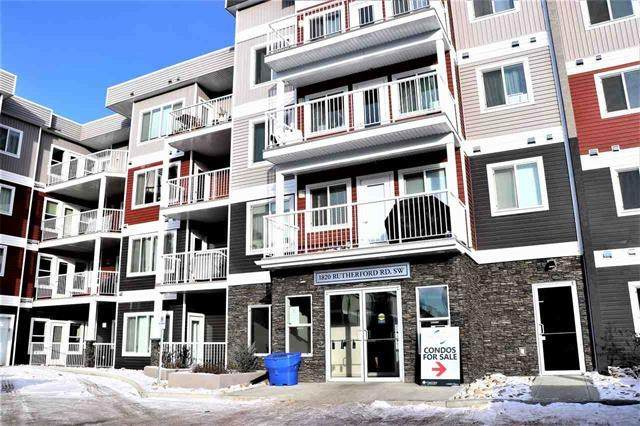 119 1820 Rutherford Road, Edmonton, AB T6W 2K6 (#E4198678) :: The Foundry Real Estate Company