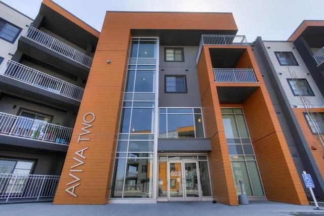 #332 503 Albany Way, Edmonton, AB T6V 0M5 (#E4206770) :: RE/MAX River City
