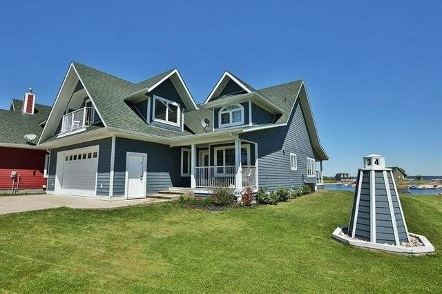 34 Sunset Harbour, Rural Wetaskiwin County, AB T0C 2V0 (#E4209834) :: RE/MAX River City