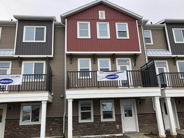 37, 2072 Wonnacott Way, Edmonton, AB T6X 2H9 (#E4226184) :: Initia Real Estate