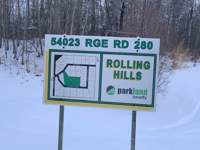 13B 54023 Rge Rd 280, Rural Parkland County, AB T7X 3V5 (#E4227364) :: Initia Real Estate