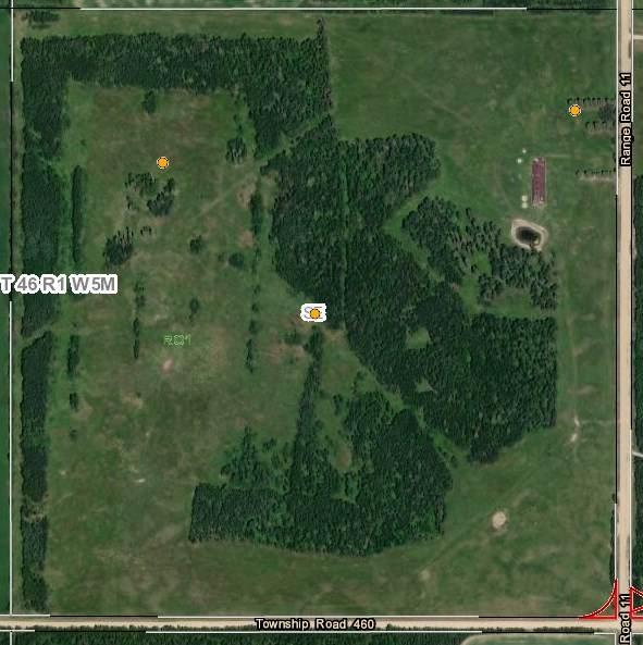 Township 46 / Range 1, Rural Wetaskiwin County, AB T0C 2V0 (#E4230136) :: Initia Real Estate