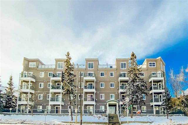 105 10118 95 Street, Edmonton, AB T5H 4R6 (#E4231734) :: RE/MAX River City