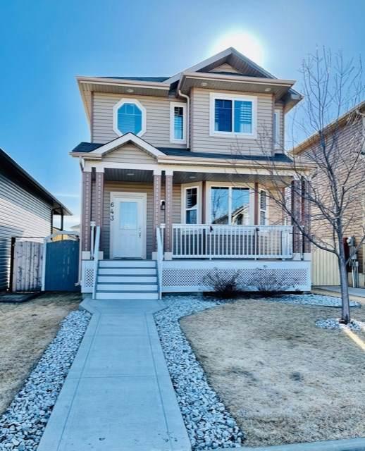 643 Songhurst Wynd, Leduc, AB T9E 0R1 (#E4237732) :: Initia Real Estate