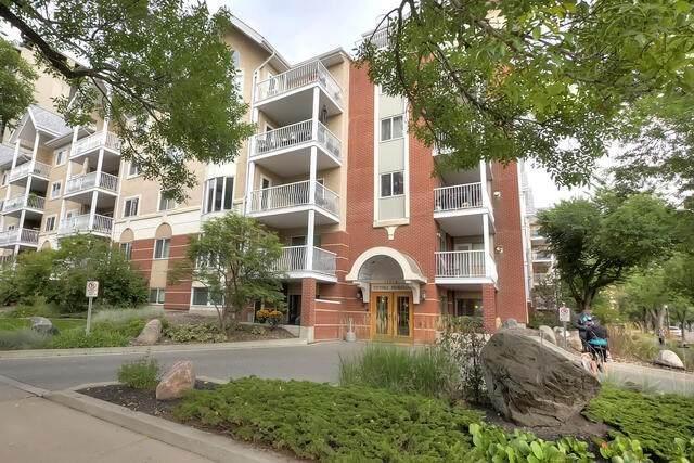 411 11716 100 Avenue, Edmonton, AB T5K 2G3 (#E4237909) :: The Foundry Real Estate Company