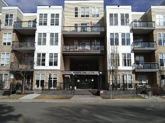 116 10531 117 Street, Edmonton, AB T5H 0A8 (#E4238243) :: RE/MAX River City