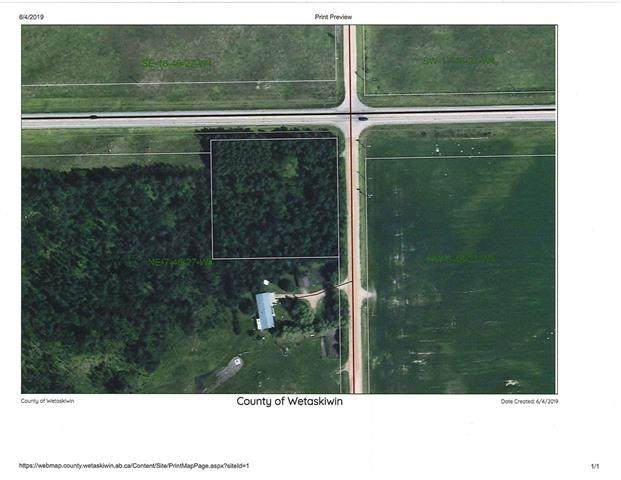 13 Rr 275, Rural Wetaskiwin County, AB T0C 1W0 (#E4238852) :: Initia Real Estate
