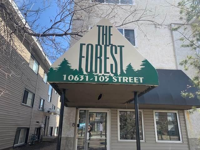 304 10631 105 Street, Edmonton, AB T6R 0K8 (#E4239278) :: Initia Real Estate
