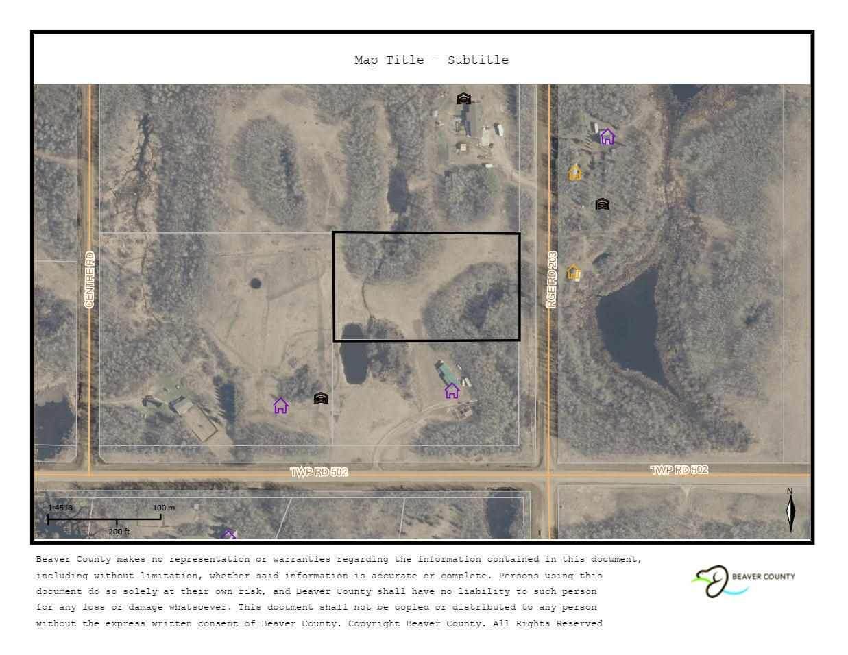Township Rd 502 & Range Rd 203 - Photo 1