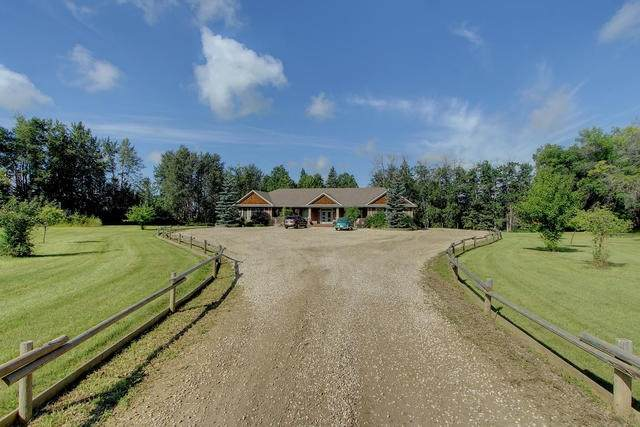 51320 Rge Rd 10, Rural Parkland County, AB T7Y 2A3 (#E4243207) :: The Good Real Estate Company