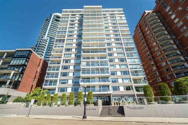 1003 11920 100 Avenue, Edmonton, AB T5K 0K5 (#E4243253) :: The Foundry Real Estate Company