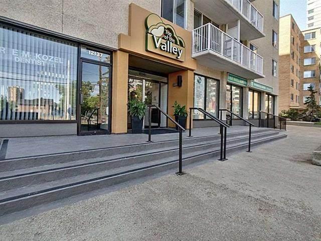 906 12141 Jasper Avenue, Edmonton, AB T5N 3X7 (#E4244211) :: Initia Real Estate