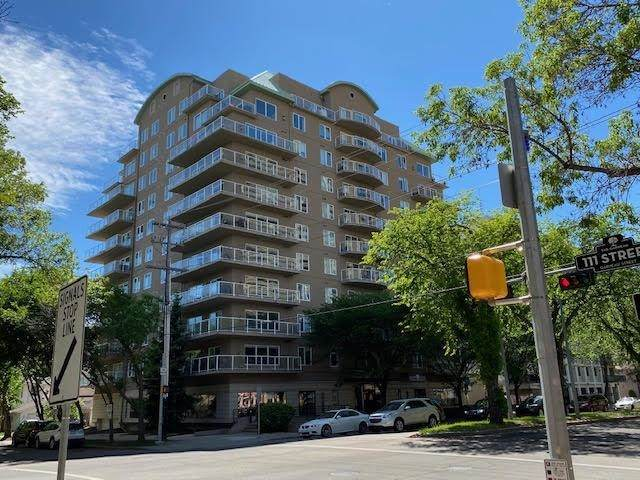 207 11111 82 Avenue, Edmonton, AB T6G 0T3 (#E4249535) :: The Good Real Estate Company