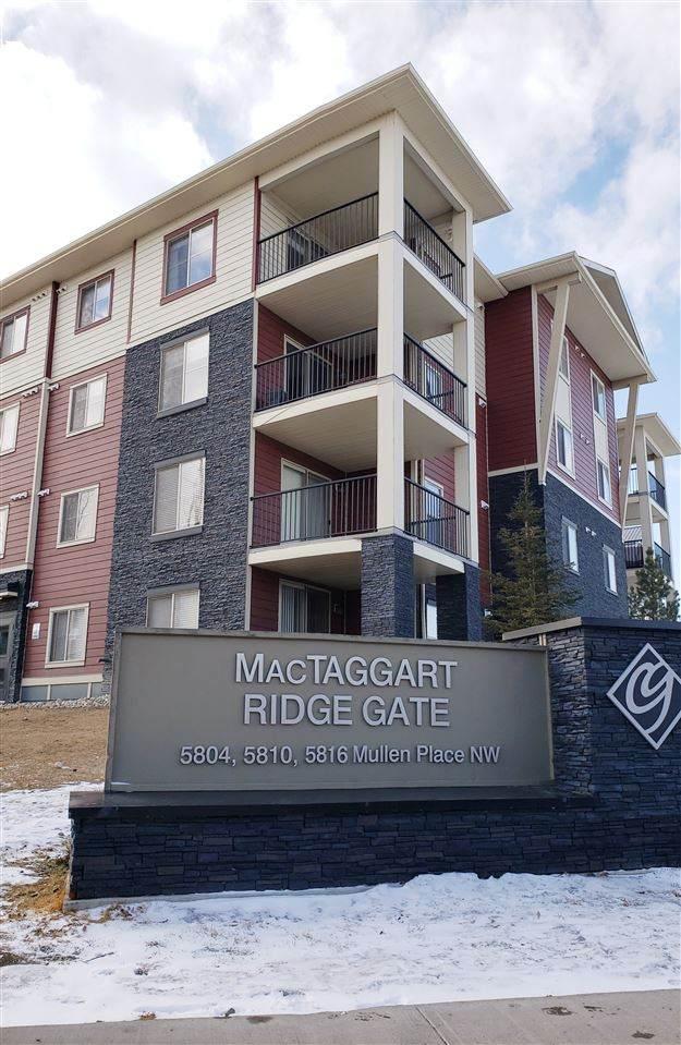 #313, 5804 Mullen Place, Edmonton, AB T6R 0W3 (#E4253705) :: Müve Team | RE/MAX Elite