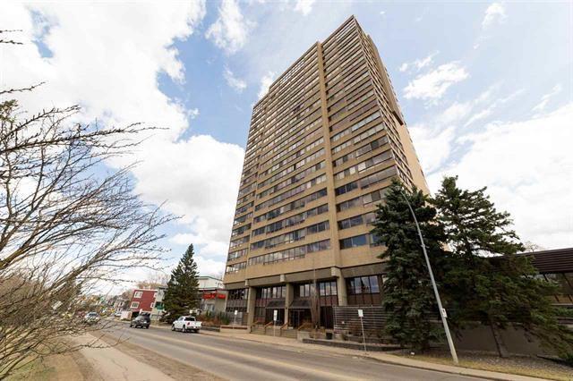 1402 9929 Saskatchewan Drive, Edmonton, AB T6E 5J9 (#E4132316) :: The Foundry Real Estate Company