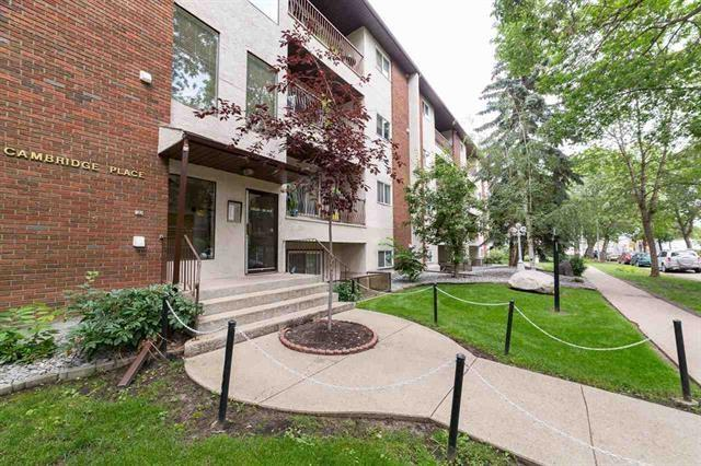 205 10520 80 Avenue NW, Edmonton, AB T6E 1V3 (#E4167768) :: David St. Jean Real Estate Group