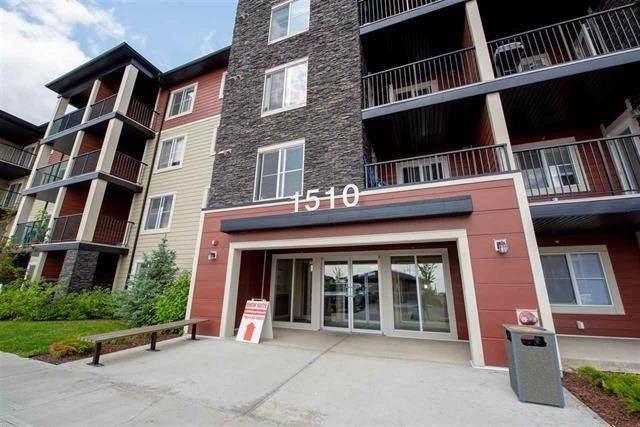314 1510 Watt Drive, Edmonton, AB T6X 2E6 (#E4169250) :: David St. Jean Real Estate Group