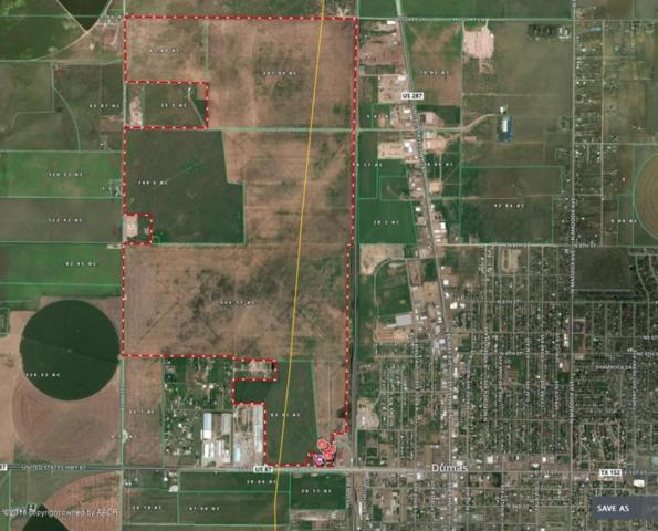 West Side Dumas Land, Dumas, TX 79029 (#16-100485) :: Gillispie Land Group
