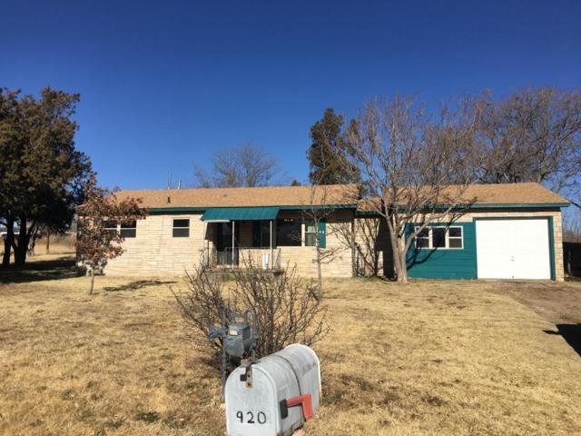 920 Studebaker Ave W, Amarillo, TX 79108 (#17-111153) :: Edge Realty