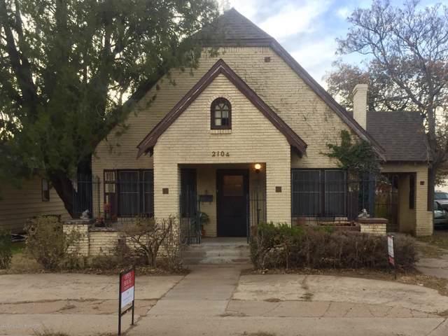 2104 Washington St, Amarillo, TX 79109 (#19-7909) :: Lyons Realty