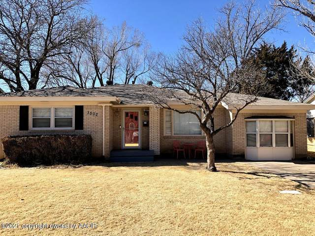 3502 Lenwood Dr, Amarillo, TX 79109 (#21-1022) :: Live Simply Real Estate Group
