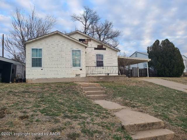 332 Sunset Dr, Pampa, TX 79065 (#21-1127) :: Live Simply Real Estate Group