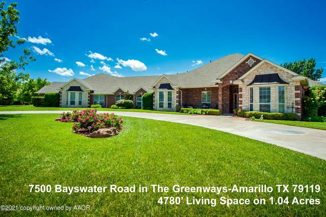 7500 Bayswater Rd, Amarillo, TX 79119 (#21-2011) :: Elite Real Estate Group