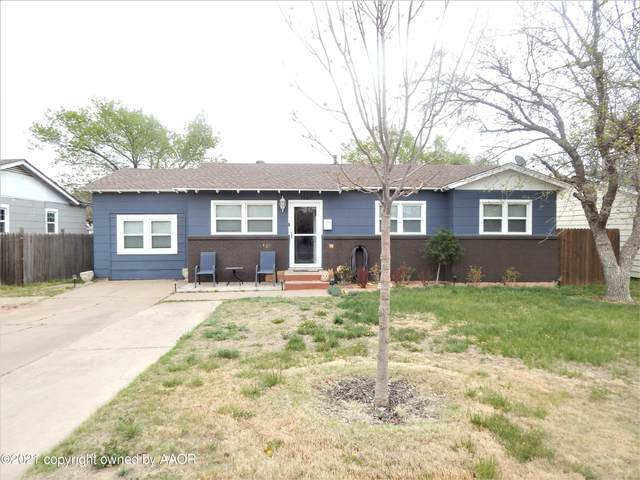 5007 Crockett St, Amarillo, TX 79110 (#21-2169) :: Live Simply Real Estate Group
