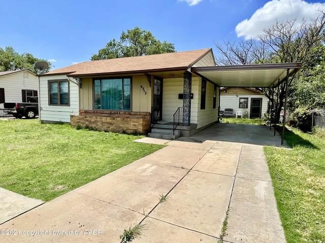 4312 Hayden St, Amarillo, TX 79110 (#21-3153) :: Meraki Real Estate Group
